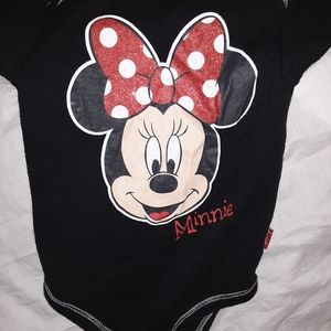 Minnie mouse onesie from Disney World